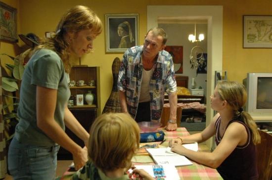 Marcela s dětmi u Richarda - nezvaní hosté