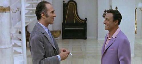Michel Piccoli - Simon Dame a Gene Kelly - Andy Miller