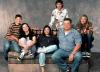 Michael Fishman + Sara Gilbert + Roseanne + Laurie Metcalf + John Goodman + Alicia Goranson