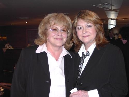 S Pavlínou Filipovskou na Týtý 2004