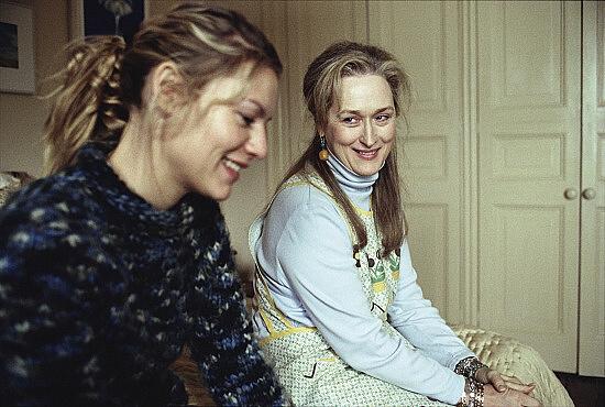 Claire Danes a Meryl Streep