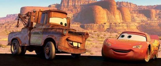 Blesk McQueen a Burák