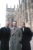 Nigel Hawthorne, Paul Eddington a Derek Fowlds