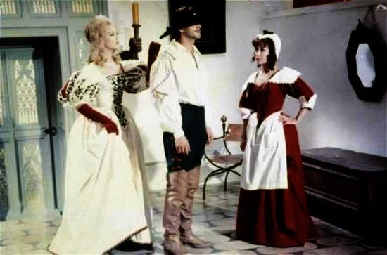 Milady, d´Artagnan a Ketty