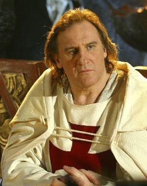 Gérard Depardieu ako Jacques de Molay