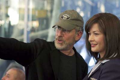 Steven Spielberg a Catherine Zeta-Jones
