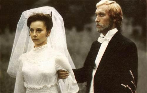 O. Jankovskij, G. Beljajeva vo filme Dráma na love