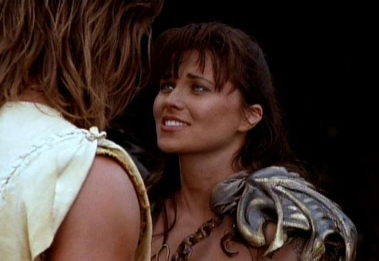 Kevin Sorbo + Lucy Lawless