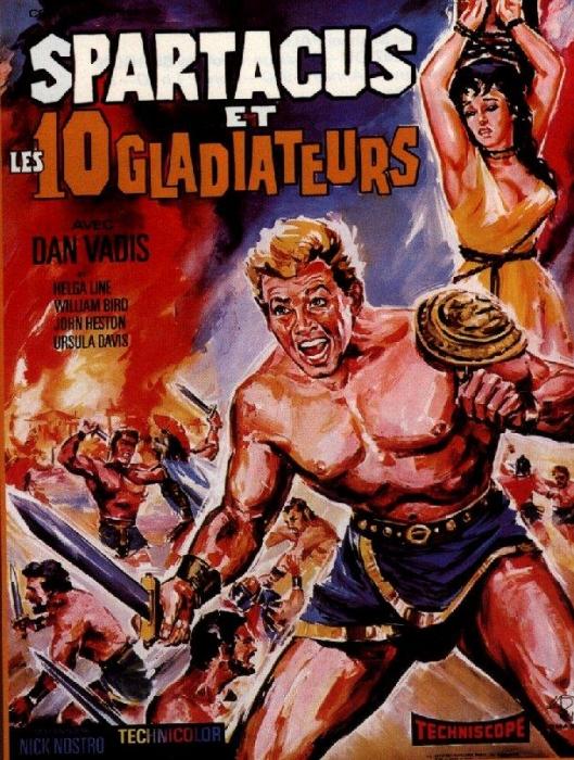 Gli Invincibili dieci gladiatori (1964)