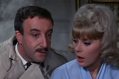 Komisař Clouseau na stopě (1964)