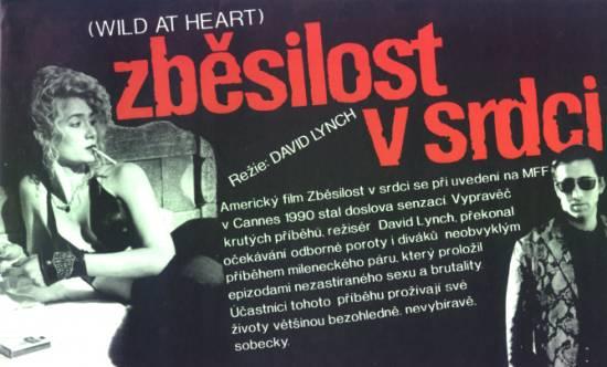 Zběsilost v srdci (1990)