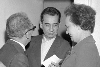 Rudolf Barák s manželkou po prepustení z väzby