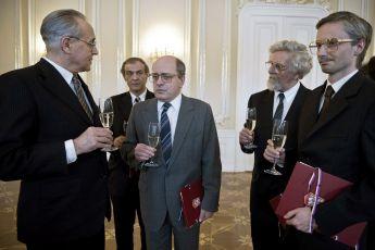 Ján Greššo, Roman Luknár, Matej Landl a Jaroslav Plesl