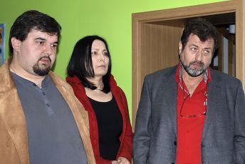 Tomá Magnusek, Zora Jandová a Zdeněk Junák