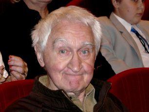 Miloš Nesvadba na premiéře filmu Pamětnice