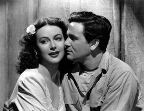 Hedy Lamarr a John Garfield