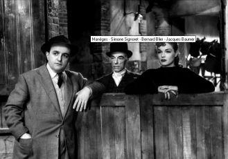 Bernard Blier, Jacques Baumer, Simone Signoret