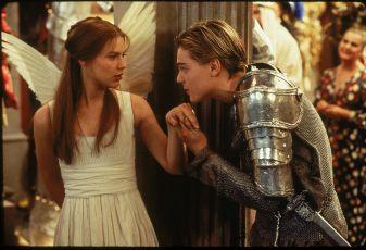 Claire Danes a Leonardo DiCaprio