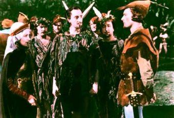 De Havilland B.Ratbohne a E.Flynn Basil Rathbone Olivia de Havilland Errol Flynn