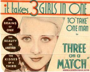 Three on a Match (1932)