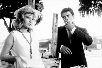 Monica Vitti, Alain Delon