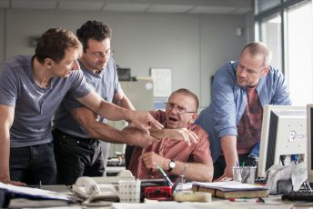 Petr Stach, Ondřej Vetchý, Miroslav Vladyka a Filip Blažek