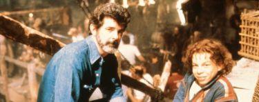 George Lucas na natáčení