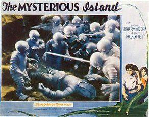 Tajuplný ostrov (1929)