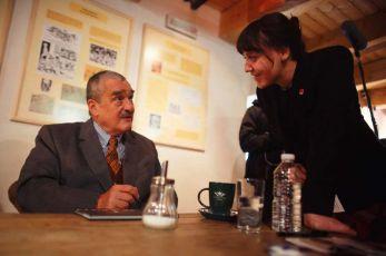 Karel Schwarzenberg při kampani
