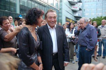 5.9.2012 premiéra filmu Váňa - Pavla Váňová a Karel Gott
