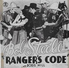 Ranger's Code (1933)