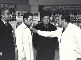 László Mensáros, Lajos Öze, Ferenc Kállai a József Madaras