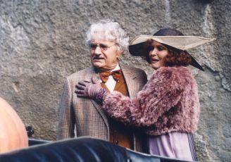 Josef Somr a Chantal Poullain