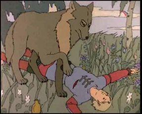 Carevič Ivan a šedý vlk (1991)