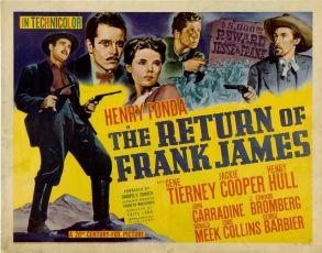 Návrat Franka Jamese (1940)