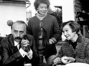Miloš Kopecký, Zdenka Procházková a Marie Rosůlková