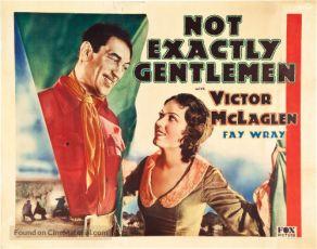 Not Exactly Gentlemen (1931)