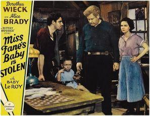 Miss Fane's Baby Is Stolen (1934)