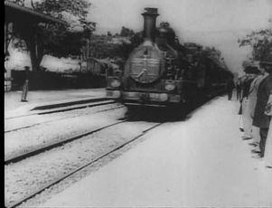 Příjezd vlaku (1896)