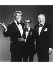 Dean Martin,  Sammy Davis jr. a Frank Sinatra