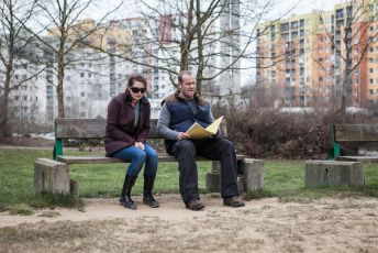 Lenka Zahradnická a Filip Blažek
