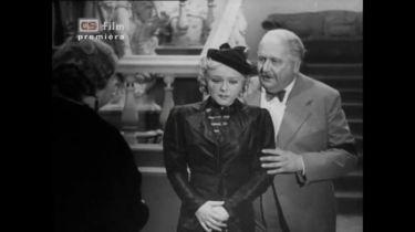 Vdovička spadlá s nebe (1937)