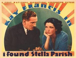 I Found Stella Parish (1935)
