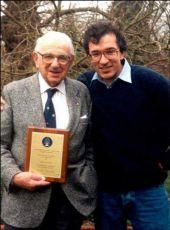 Nicholas Winton s režisérem snímku