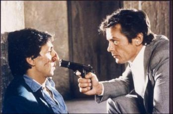 Richard Anconina a Alain Delon