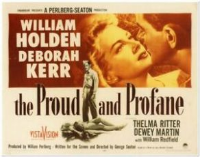 The Proud and Profane (1956)