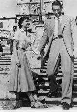 Audrey Hepburn a Gregory Peck