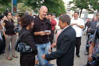 5.9.2012 premiéra filmu Váňa -  Ondřej Soukup a Josef Váňa (2)