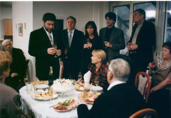 Tomáš Töpfer, Bronislav Poloczek, Kateřina Herčíková - Hrachovcová, Jan Šťastný, Kateřina Macháčková a Jan Skopeček