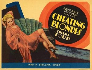 Cheating Blondes (1933)